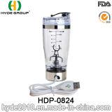 La bouteille électrique populaire de dispositif trembleur de vortex du plastique 9000rpm, BPA libèrent la bouteille électrique en plastique de protéine (HDP-0824)