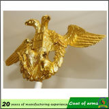 Emblema del metallo di figura dell'aquila dell'oro