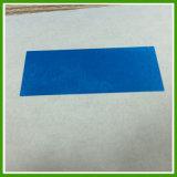 Étiquette vide blanc évidente de garantie de bourroir