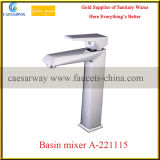 Banheiro Deck Mounted Square Wash Basin Faucet