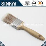 Cepillo de pintura afilado con la manija de la madera dura