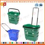 Qualitäts-Gemischtwarenladen-Supermarkt-Einkaufskorb mit Cartors (Zhb75)