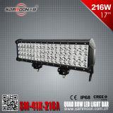 쿼드 줄 LED off-Road 차량, 트럭, 배 굴착기를 위한 자동 모는 일 표시등 막대
