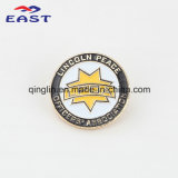 Pin di Round Shape Metal Lapel della pittura e Badge per Event