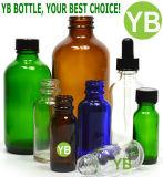 Bernsteinfarbige Flaschen mit Qualität