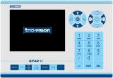 ズームレンズの焦点のパイプラインの点検カメラシステムQpad-E