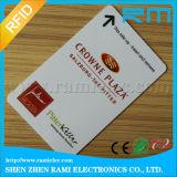 Impresión barata de la tarjeta de visita del PVC Cr80