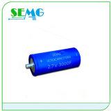 condensador electrolítico de aluminio del ventilador del condensador que comienza de 1500UF 350V