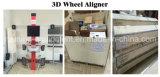 alineador de la rueda 3D con datos autos completos