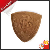 Modo Design Custom Embossed Imitation Leather Patches per Clothing