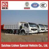 판매를 위한 HOWO 모래 팁 주는 사람 덤프 트럭