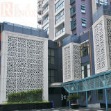 Aluminum perforato Panel per Downtown/Exterior Wall Decoration