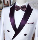 オフィスの摩耗のための顧客用細い適合の人のスーツ