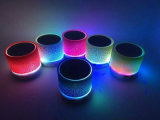 Bunte LED Light Portable Bluetooth Speaker mit TF Card (ID6005)