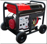 5kw空気によって冷却される小さい携帯用ディーゼル発電機