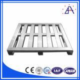 6082 bragueros de /Aluminum de la columna del aluminio/pared de aluminio