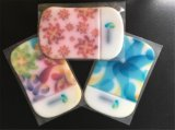 PVC Sticky Pads de Plastic Coaster Promotional 3D da alta qualidade (BD048)