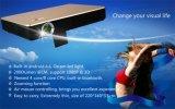 Proyector video lleno androide del DLP de la ayuda 1080P HD 3D LED de WiFi para la fuente de oficina y enseñanza con HDMI