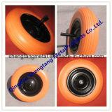 Rotella 3.50-6 della gomma della gomma piuma di poliuretano dell'unità di elaborazione