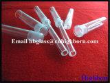 Surtidor del tubo del empalme del vidrio de cuarzo de la pureza elevada 19#