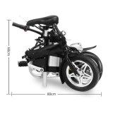 Atractiva 12 pulgadas portátil plegable bicicleta eléctrica
