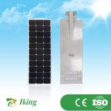 Alto lumen 80W para la luz de calle solar todo en uno con buena calidad