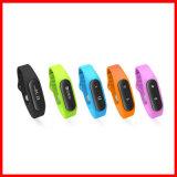 Fitbandの情報処理機能をもったスポーツの腕時計の防水タッチスクリーンのスマートなブレスレット