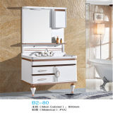 Nuovo PVC Bathroom Vanity di Highquality Floor Standing con Side Cabinet
