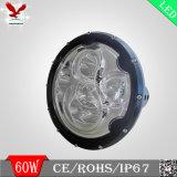 """차 (HCW-L6085)를 위한 Newproduct 크리 사람 60W 7 """" LED 모는 빛"""