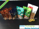 Sac comique en plastique de empaquetage de casse-croûte de sac de fruit sec