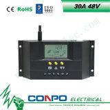 30A, 48V 의 LCD 지능적인 태양 관제사