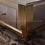 스테인리스 프레임 테이블 호텔 가구를 가진 장방형 MDF 커피용 탁자