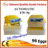 Preiswerteste Preis-voll automatische Ei-Drehende Miniei-Inkubatoren Yz-96A