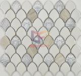 Mosaico di ceramica classico bianco della miscela nera quadrata vuota (CST189)