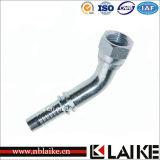(26741) Garnitures de pipe hydrauliques de Dreege de la femelle 45 de fil de Jic
