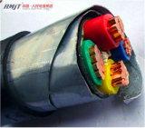 Cable acorazado aislado PVC de cobre de la corriente eléctrica de la SWA de la base XLPE
