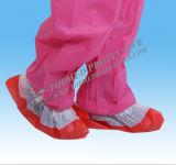 La cubierta disponible del zapato, cubiertas plásticas del zapato, zapato del CPE cubre colorido