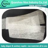 Белая ткань Adl Nonwoven для сырий пеленки младенца с SGS