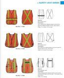 Proteção de segurança que dá um ciclo a veste reflexiva da segurança do amarelo elevado da visibilidade En20471