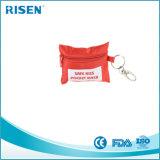 Valvola di one-way di Keychain della mascherina di CPR