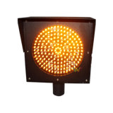 [200مّ] صفراء [لد] يبرق إشارة حركة مرور [ورنينغ ليغت]