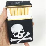 印刷されたロゴの長方形の形のTreadyのシリコーンのタバコ入れを防水しなさい
