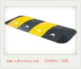 Amarillo y ennegrecer la chepa de goma de la velocidad de la flecha de la anchura del 1m (DH-SP-5)