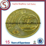 주문을 받아서 만들어진 고대 금 은 구리 스포츠 금속 동전