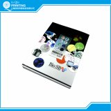 Catálogo de produto da cor cheia da impressão