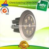 Алюминиевые теплоотводы потолочного освещения снабжения жилищем с приоритетом цены