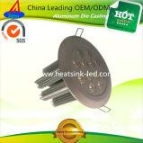 Алюминиевый теплоотвод потолочного освещения радиатора с уникально конкурентным преимуществом