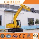excavatrice hydraulique résistante multifonctionnelle de pelle rétro de la chenille 15t (52m3)