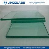 Vidro Tempered cheio liso de vidro de flutuador da segurança de construção do edifício