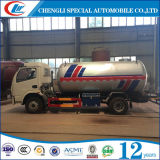 Тележка бака дороги колеса 5cbm LPG Dongfeng 6